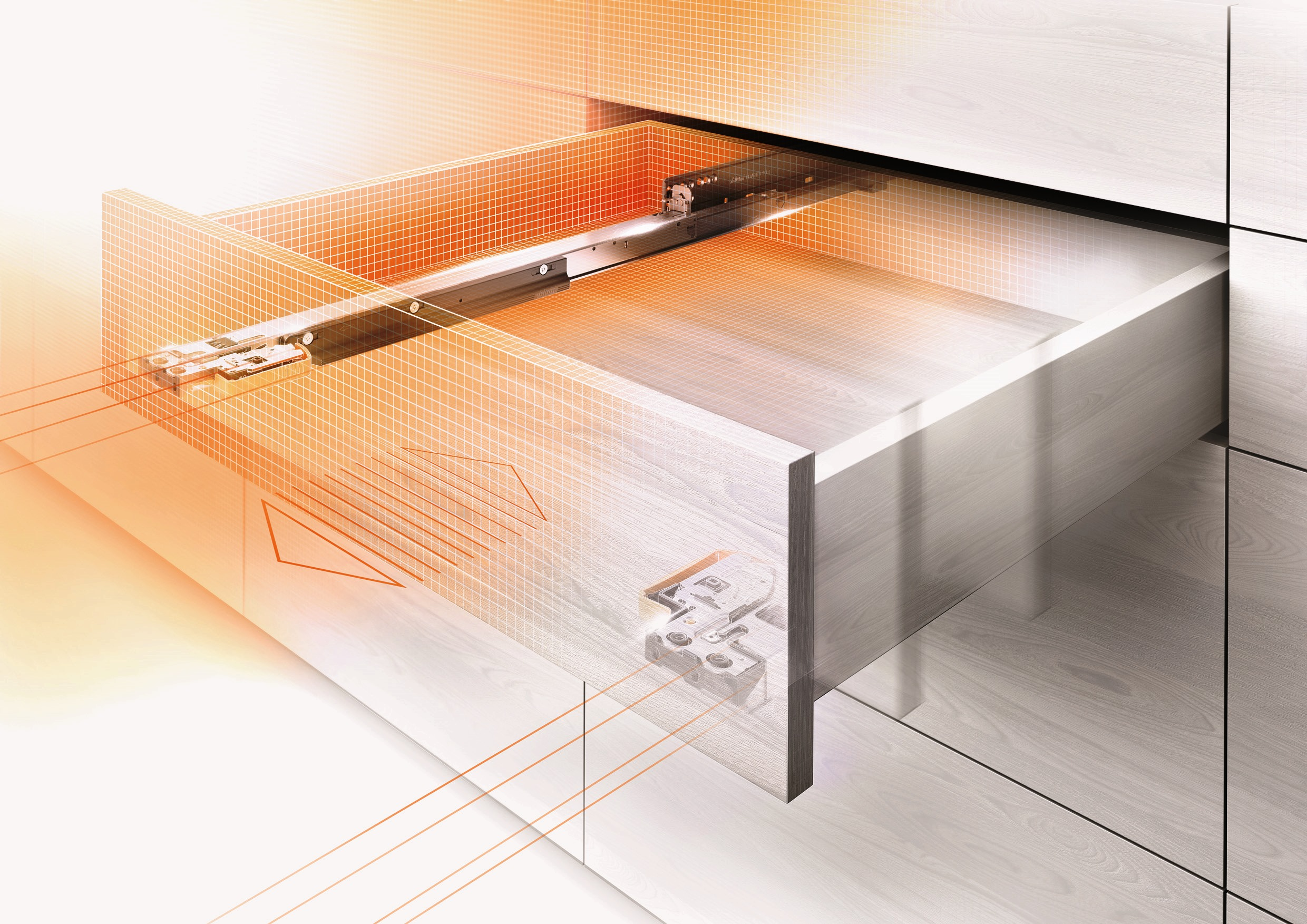 to slides is convert blum woodworking rolling possible sliding drawer wtmat frame a questions without it into