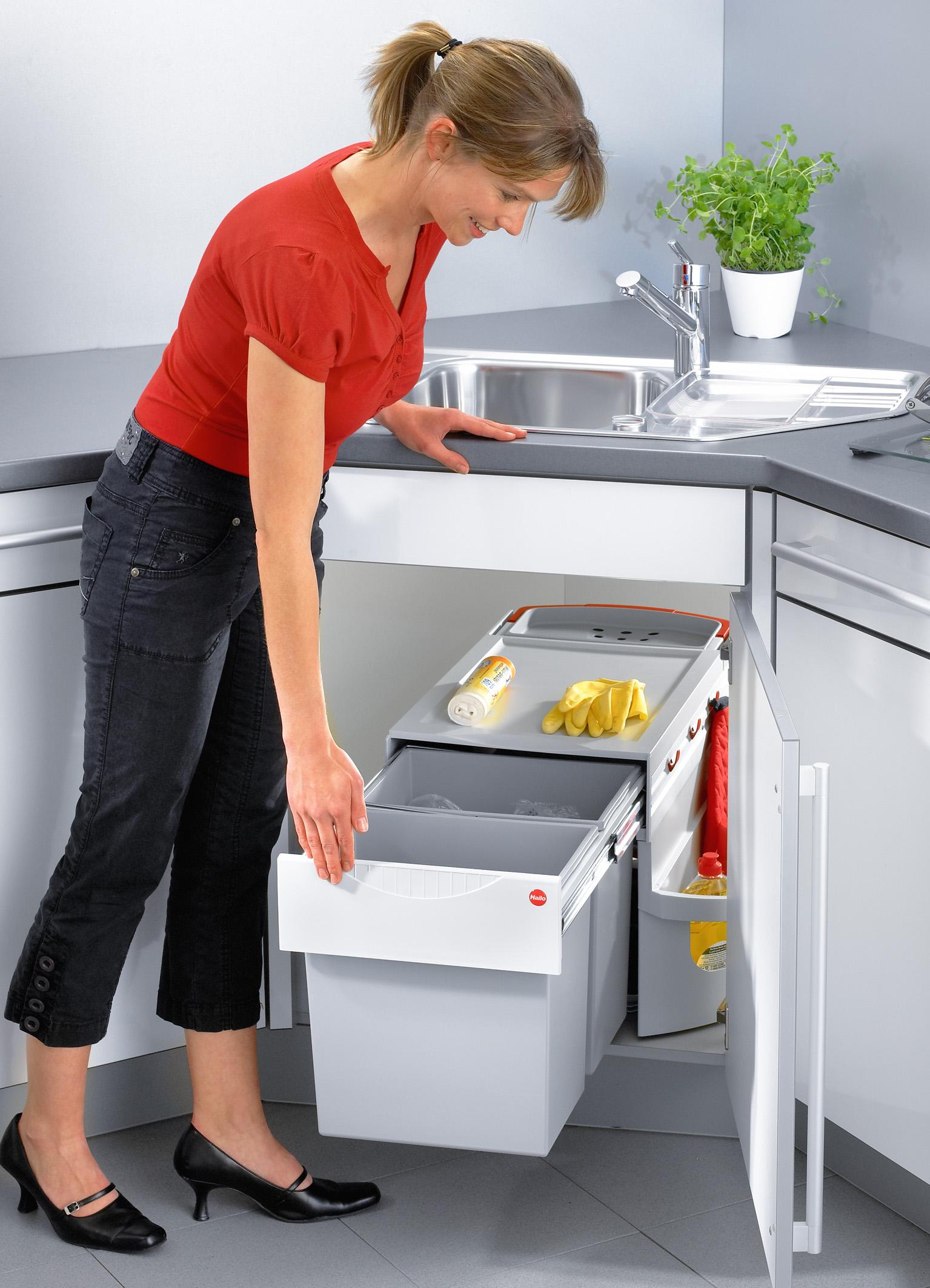 Duo Abfalleimer Küche