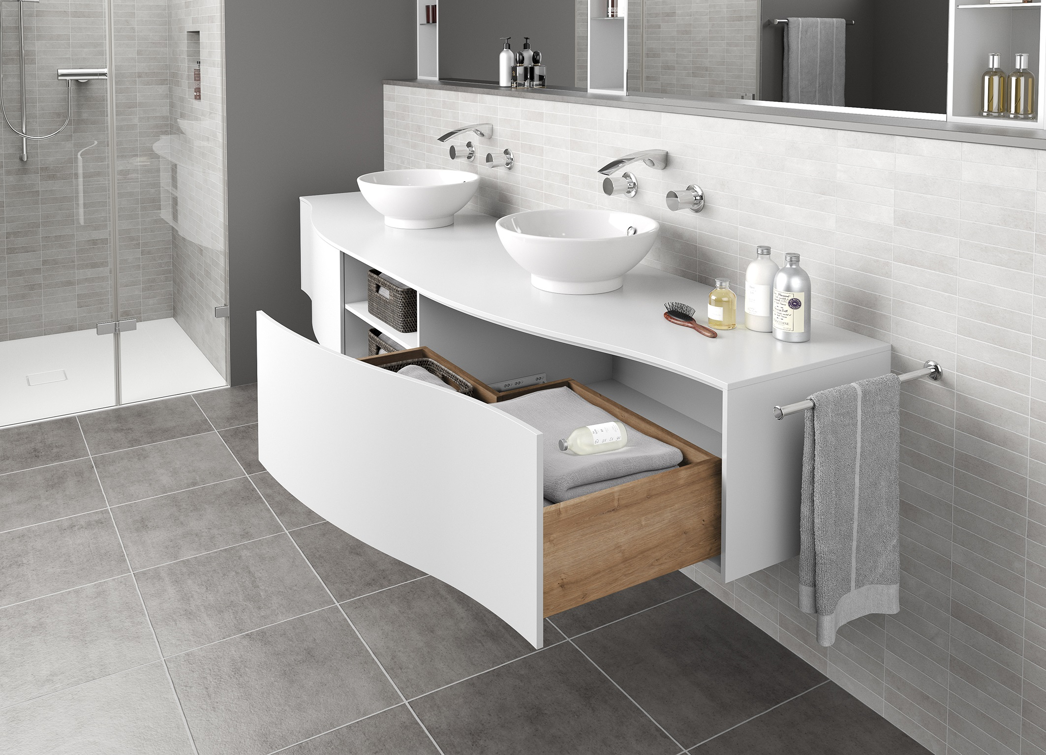 Hettich Stability And Luxuriously Smooth Running Action For Large Wooden Drawers Umaxo Com